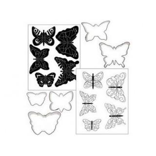 Biscuit Déco Les Papillons