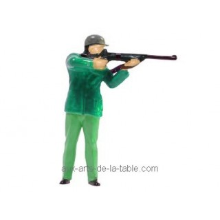 Figurine Chasseur Avec Carabine
