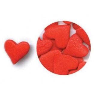 Coeur rouge jumbo en sucre