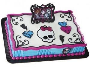 Monster High Frame & Skullette Cake Decoration Topper Kit