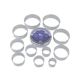 Emporte-pièces Les cercles 11 pc