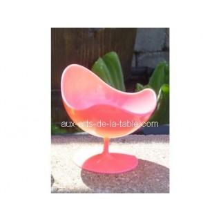 Verrine Ball Chair fuschia