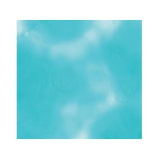 Feuille d'aluminum Bleu pâle