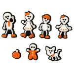 Famille de squelette en sucre
