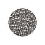 Perle argent métallisé 7mm
