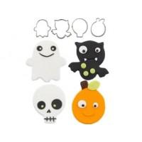 Emporte-pièces Copains d'Halloween