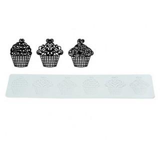 Tapis pour glaçage souple - Les cupcakes