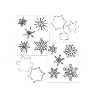 Biscuit Déco Flocons de neige