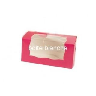"""Boite blanche pour gâteau et cupcake 8"""" x 4"""""""