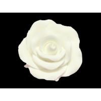 Rose blanche en pastillage - moyenne