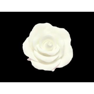 Rose blanche en pastillage - Petite