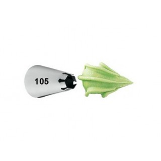Douille à pâtisserie bordure No 105
