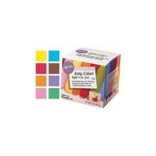 Colorant à glaçage 8 couleurs
