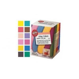 Colorant à glaçage 12 couleurs