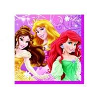 Petite serviette de table Princesses Disney