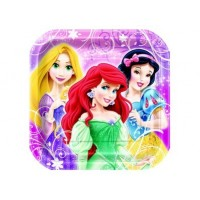 "Assiette 7"" Princesses Disney"