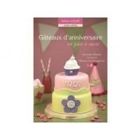 Livre - Gâteaux d'anniversaire en pâte à sucre