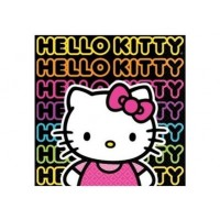 Petite serviette de table Hello Kitty Ado