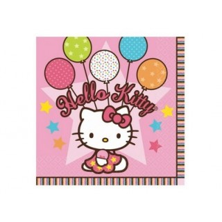 Petite serviette de table Hello Kitty