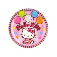 "Assiette 9"" Hello Kitty"