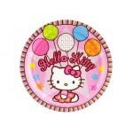 "Assiette 9"" Hello Kitty"