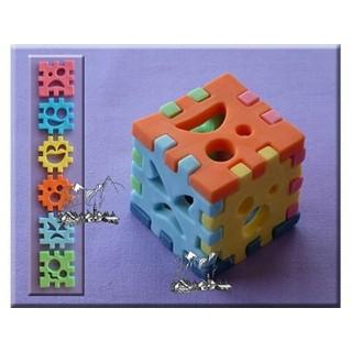 Moule Cube puzzle 3-D