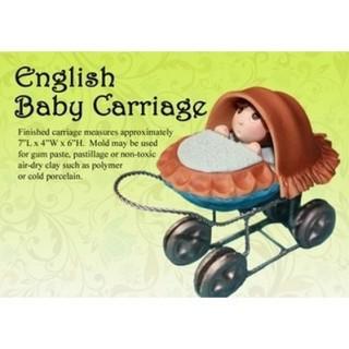Moule Carosse de bébé 3-D