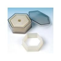 Découpoirs Hexagone 9 pc.