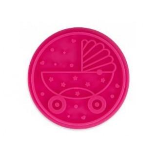 Pastille pour tampon à biscuit - Carosse de bébé