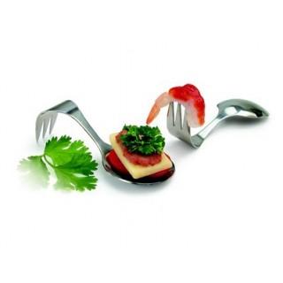 Cuillère-fourchette à tapas