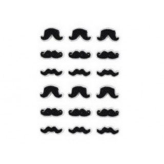Moustaches en sucre