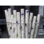 Baton à cake pops / Paille - Araignée et toile