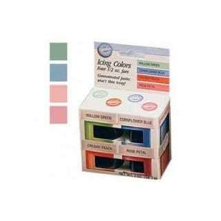 Colorant à glaçage Couleurs pastels