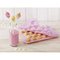Moule à cake pops Cupcake 3-D