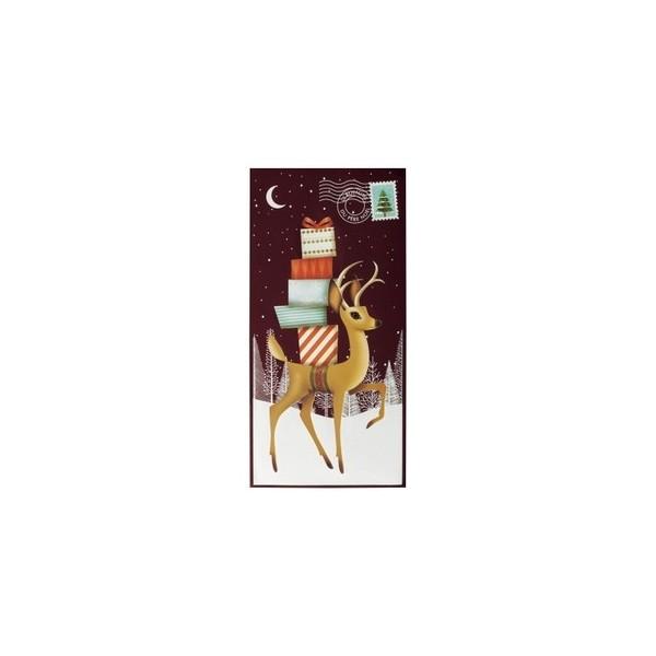 Impression carte de voeux renne Impression carte de voeux