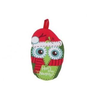 Dessous de plat Hibou de Noël