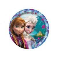 """Assiette 9"""" La Reine des neiges ( Frozen )"""