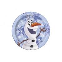 "Assiette 7"" Olaf ( Frozen )"