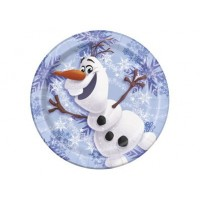 "Assiette 9"" Olaf ( Frozen )"