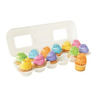 Boite à cupcakes Douzaine d'oeufs