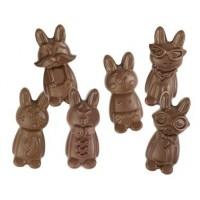 Moule à chocolat Drôles de lapin