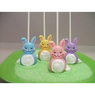 Pick Tête de lapin pastel