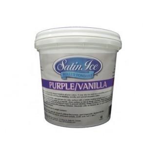 Fondant à rouler Satin Ice - Violet 1 kg