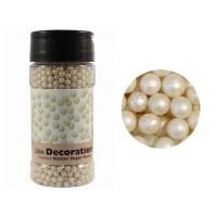 Perle blanc huitre en sucre
