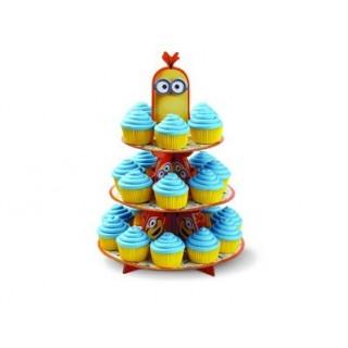 Présentoir à cupcakes Les Minions