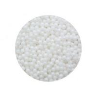 Perle blanche en sucre