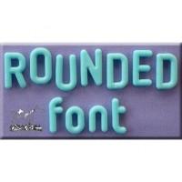 Moule Alphabet rond
