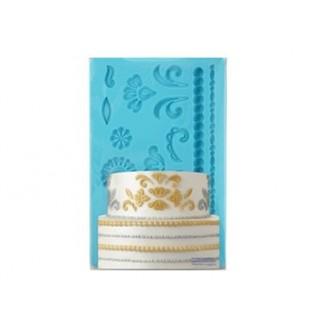 Moule Perles et motifs damask