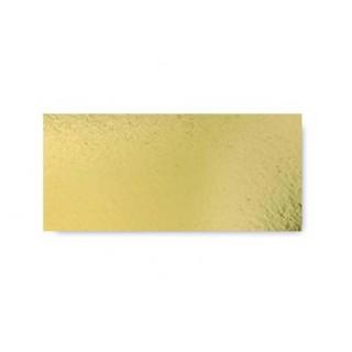 Carton à bûche or