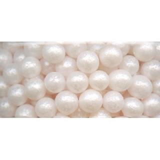 Perle blanche en sucre 3-4 mm